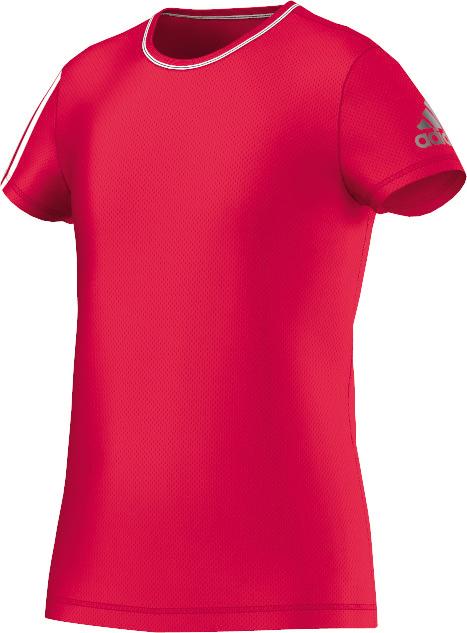 Kinder Trainingshirt Clima, RAYRED/WHITE, 170