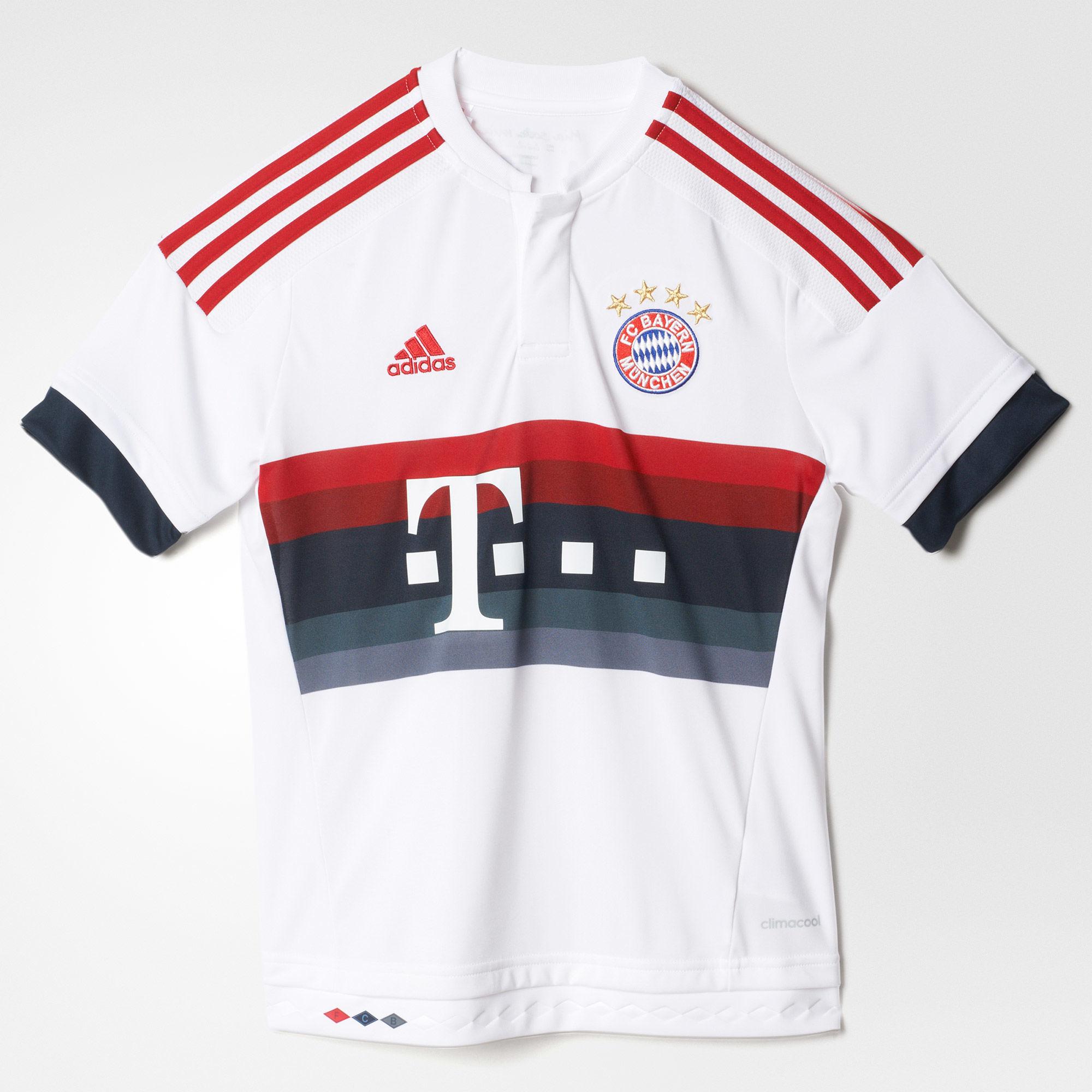 Jungen Auswärtstrikot FC Bayern München Replica Spieler