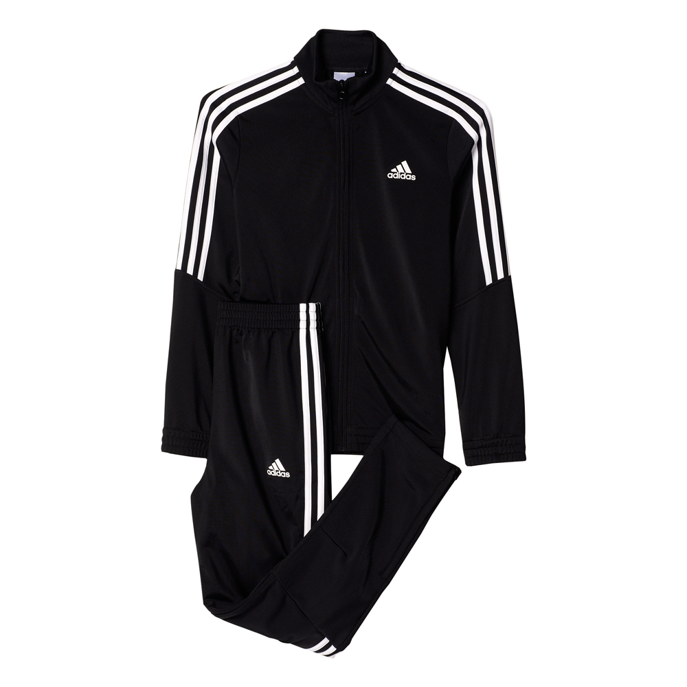 Kinder Trainingsanzug Tiro Tracksuit, BLACK/WHITE, 176