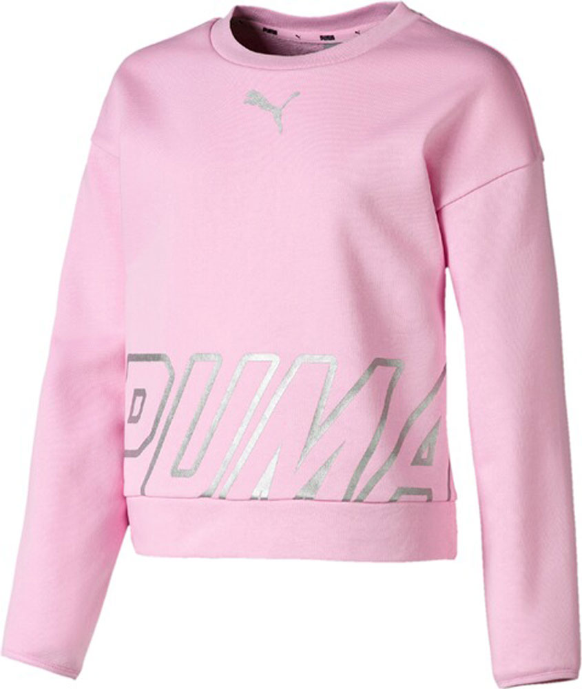 Kinder Sweatshirt Alpha Crew Sweat TR G pink