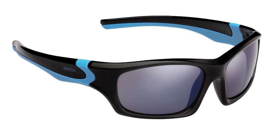 Kinder Sonnenbrille FLEXXY TEEN, schwarz-cyan, -