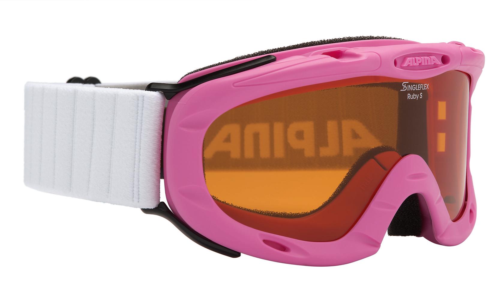 Kinder Skibrille RUBY S, rose, -