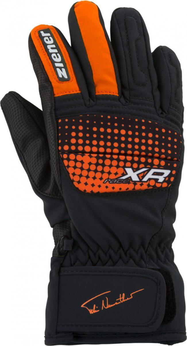 Kinder Handschuhe ISP 18-JUNIOR 1492 AS(R) GLOVE, new orange, 4