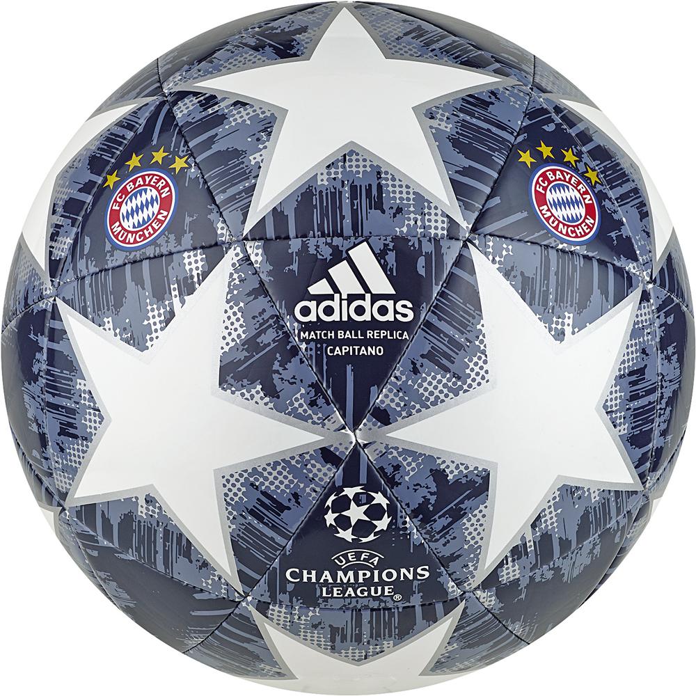 Kinder Fussball FC Bayern München, WHITE/SILVMT/RAWSTE/U, 5