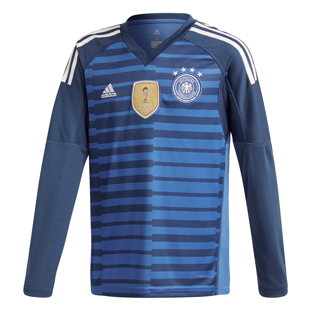 Kinder 2018 GERMANY HOME GOALKEEPER JERSEY YOUTH