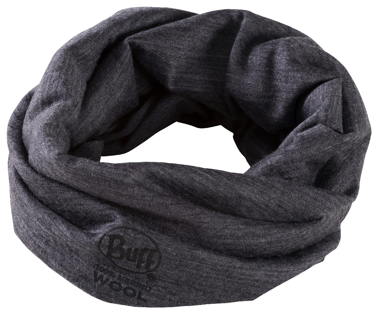 Unisex Halstuch WOOL BUFF SOLID GREY