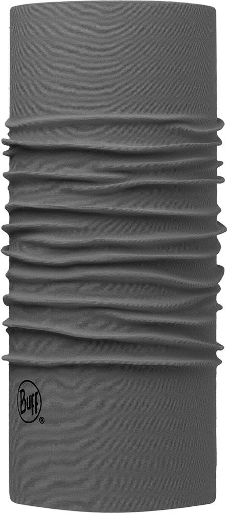 Unisex Multifunktionstuch Schlauchschal Original Solid grau, GRAU, -