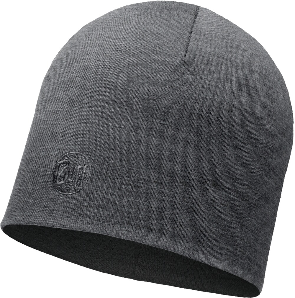 Mütze Heavyweight Merino Wool Hat Regular Schwarz