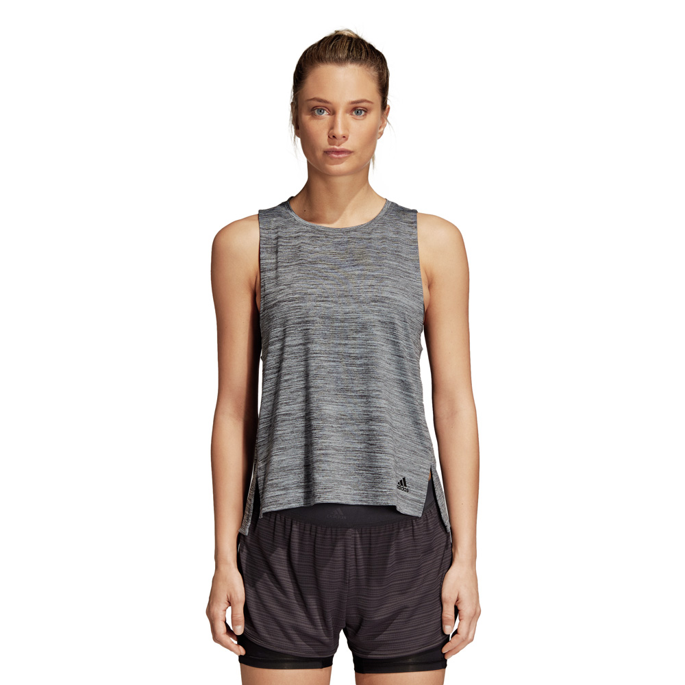 Damen Sportshirt Boxy Light Tank