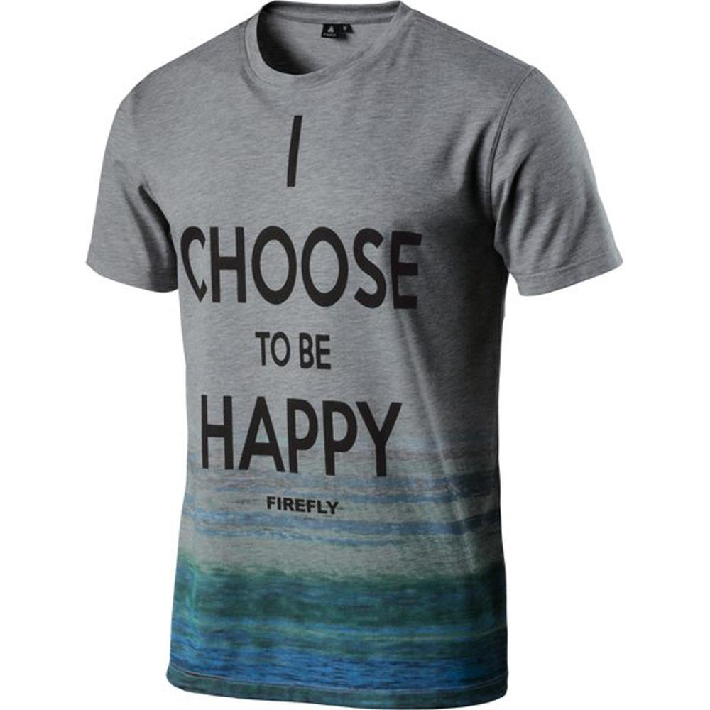 Herren T-Shirt, DUNKELGRAU, S
