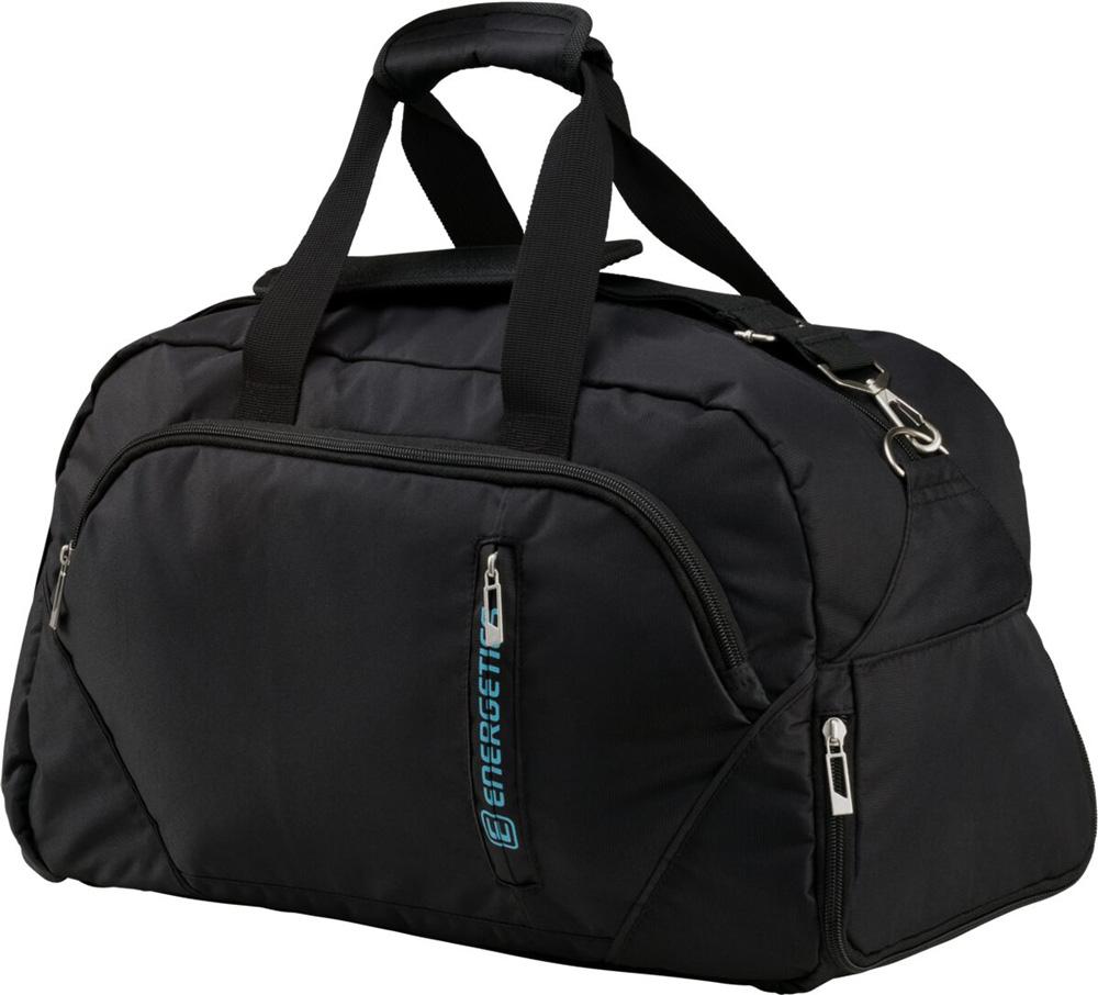 Fitnesstasche Classic Sporttasche Schwarz Tasche