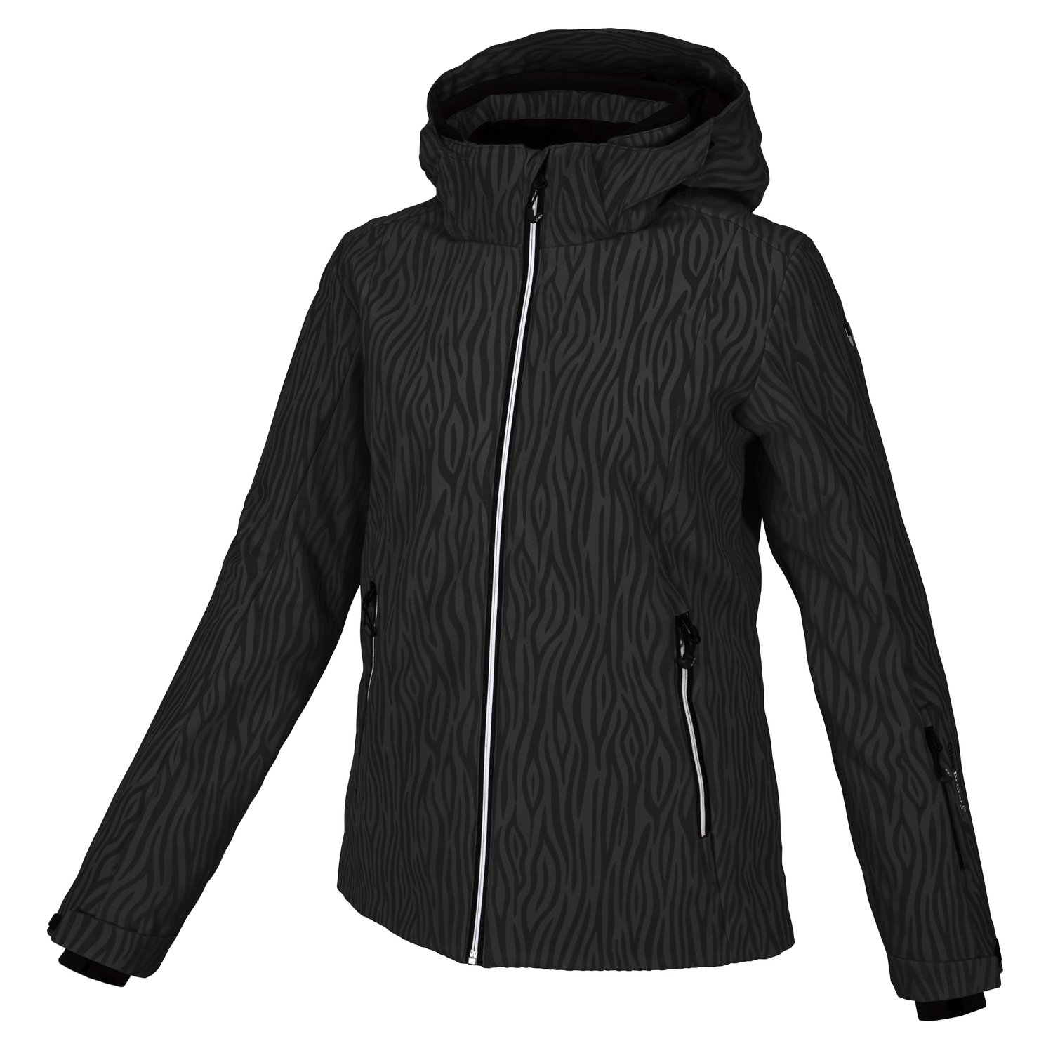 Damen Skijacke STRETCH ZIP HOOD