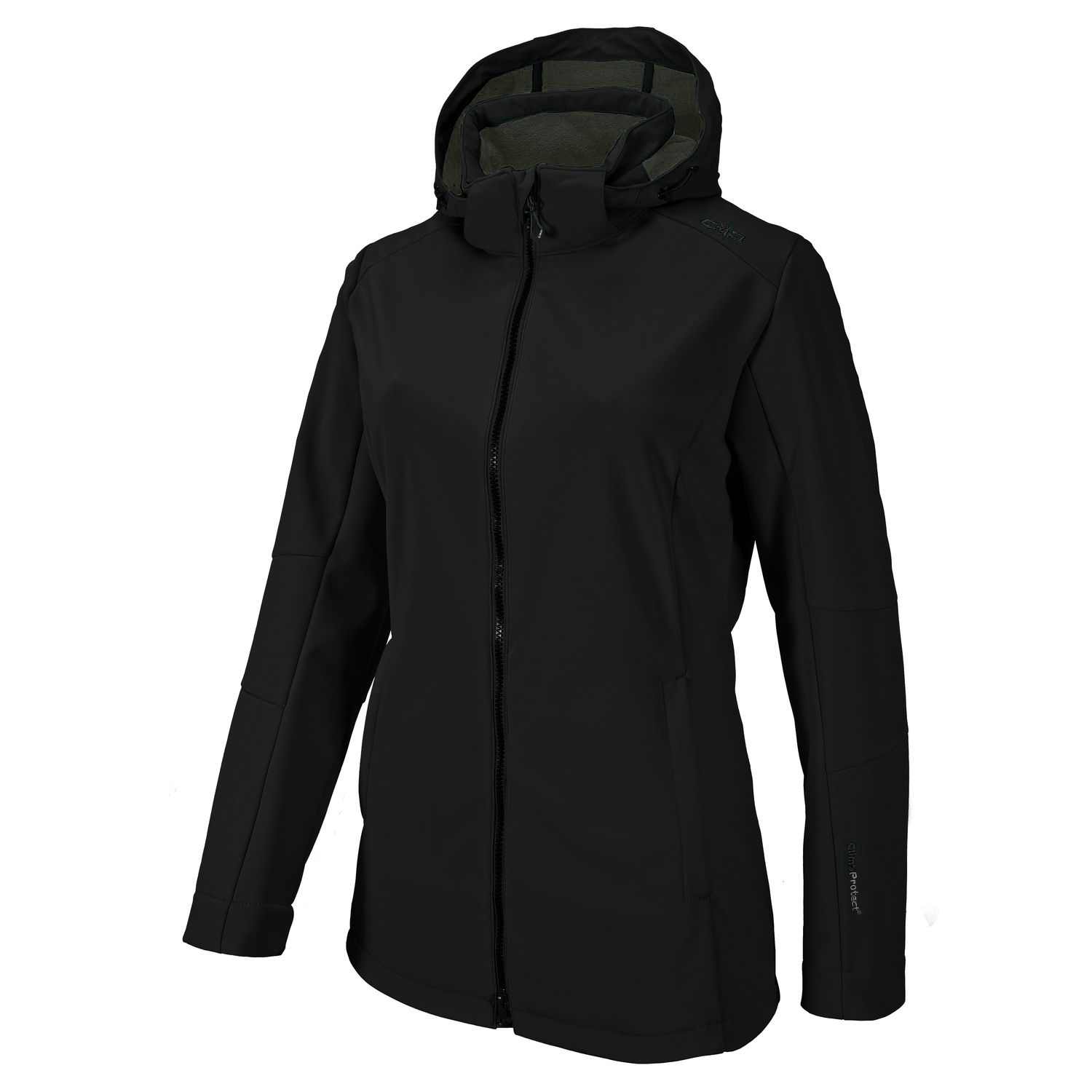 Damen Softshell Jacke WOMAN SOFTSHELL JACKET ZIP HOOD