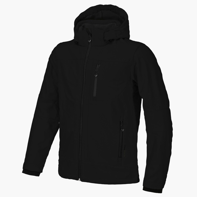 Herren Jacke Softshell Jacket Zip Hood
