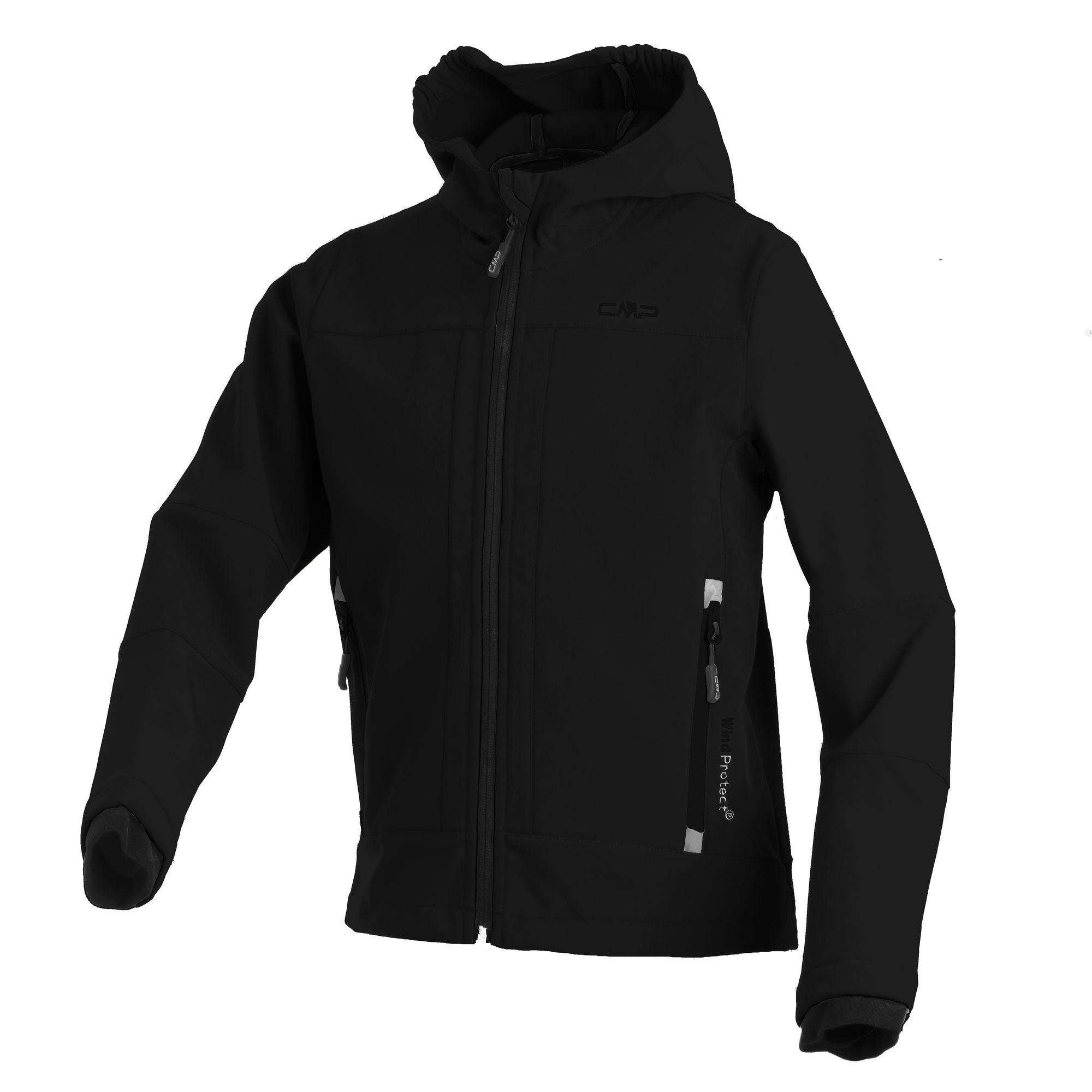 Kinder Softshell-Jacke BOY SOFTSHELL JACKET FIX HOOD