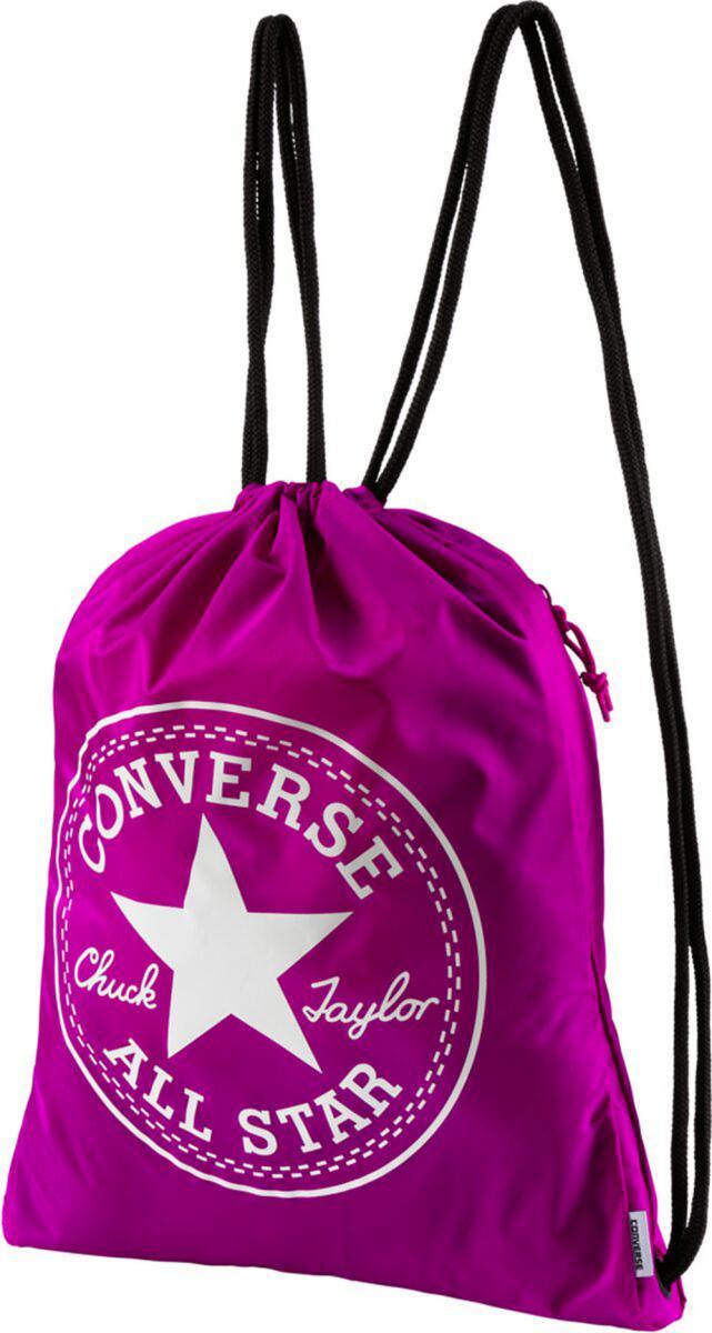 Freizeittasche Big Logo Cinch Sporttasche Turnbeutel Pink