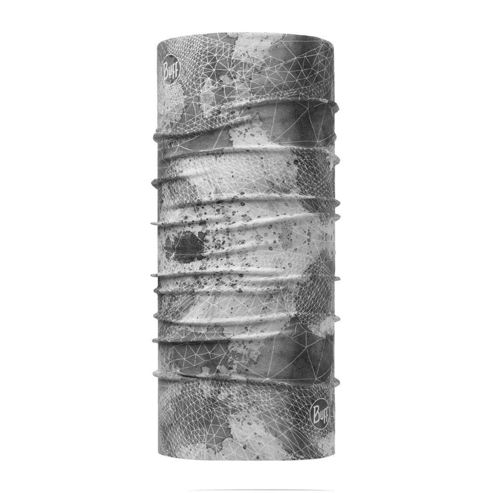Unisex Multifunktionstuch Net Silver Grey Coolnet UV, GRAU, -