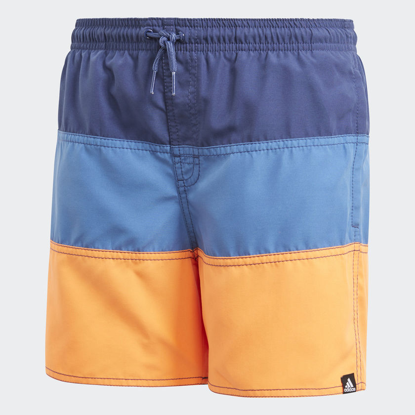 Kinder Colorblock Badeshorts