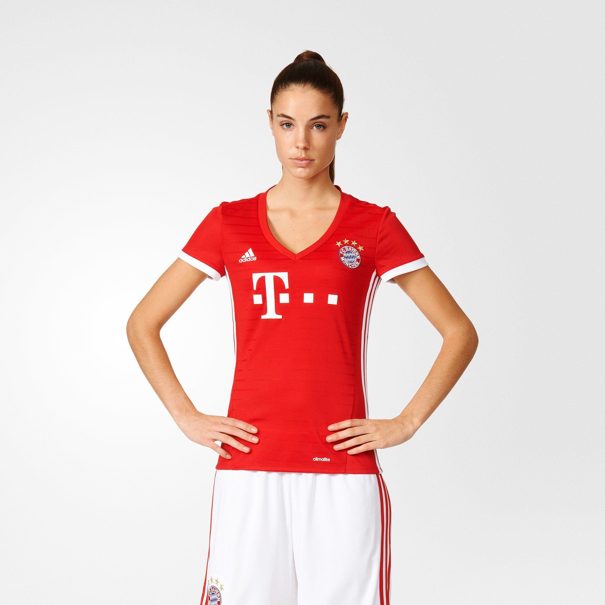 Damen FC Bayern München Heimtrikot Replica