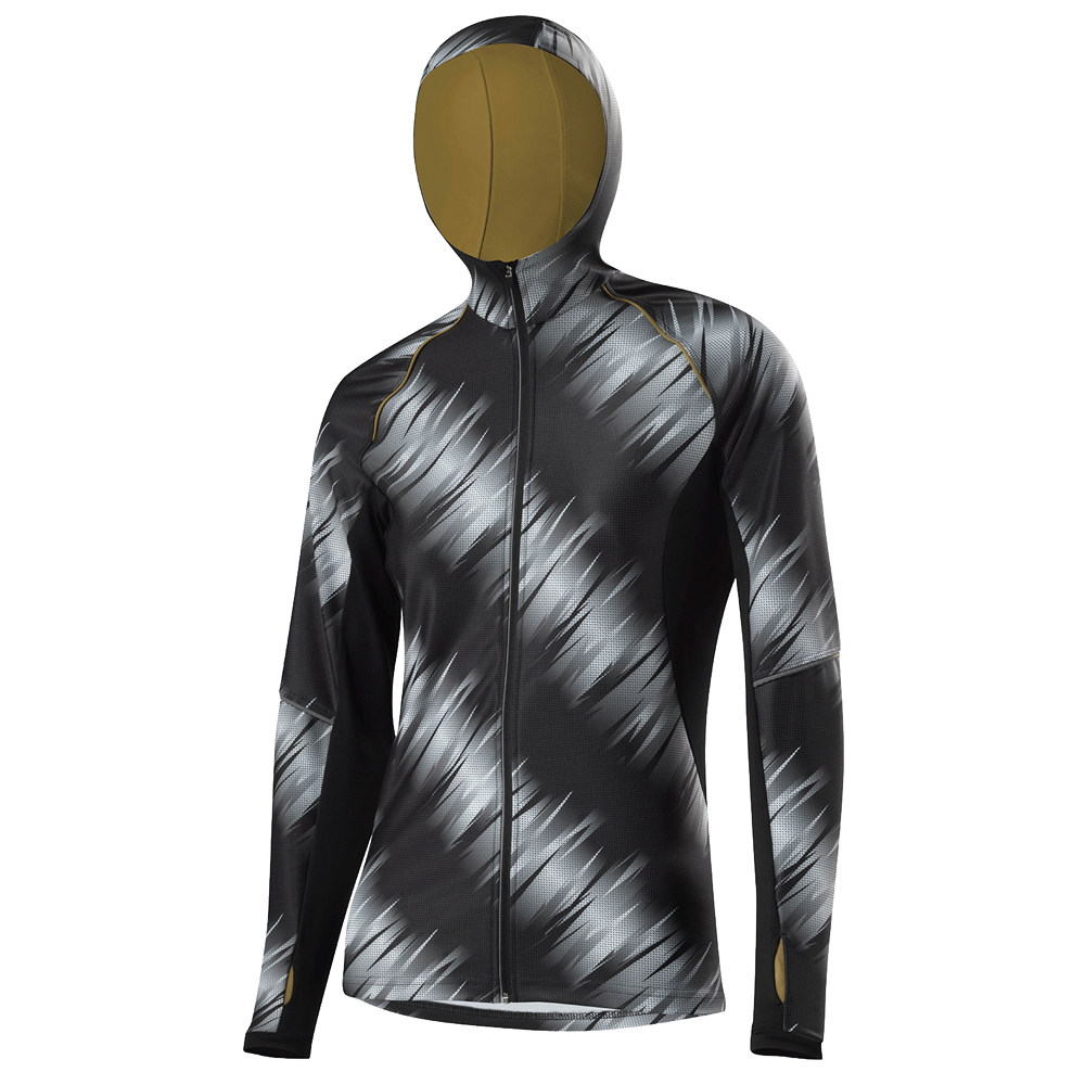 Damen HOODY FZ PAINTED THERMO-INNENVELOURS