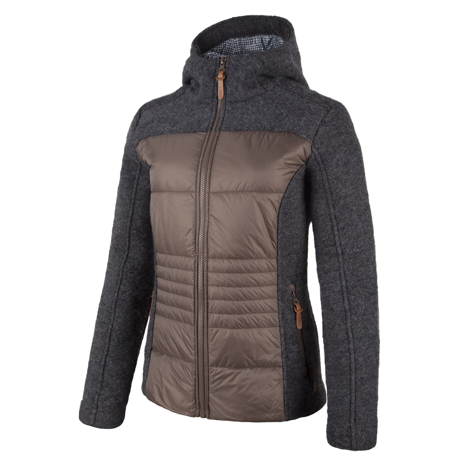 Damen Jacke WOMAN JACKET FIX HOOD