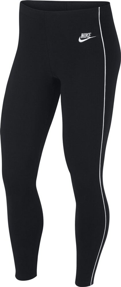Damen Tight NSW Leggings Gymnastikhose schwarz/weiß