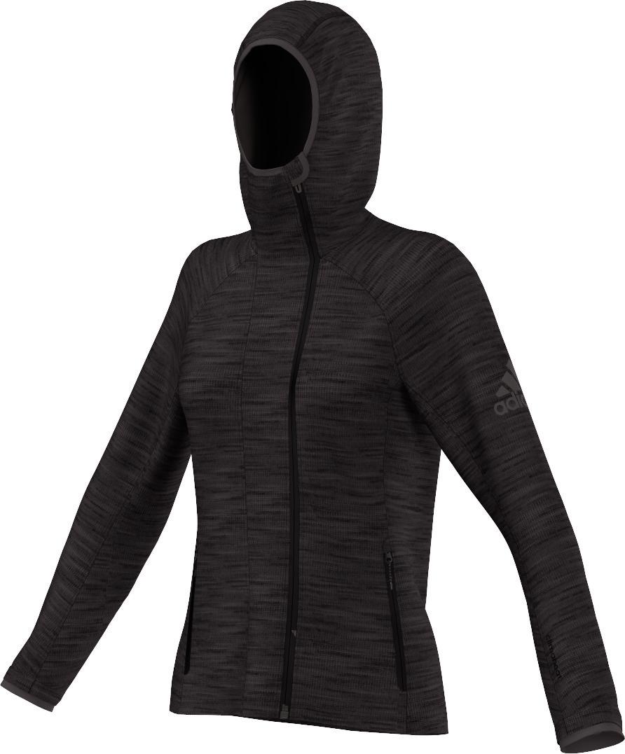 Damen Pullover Climaheat Fleece Hoody, HEAUTI, 36