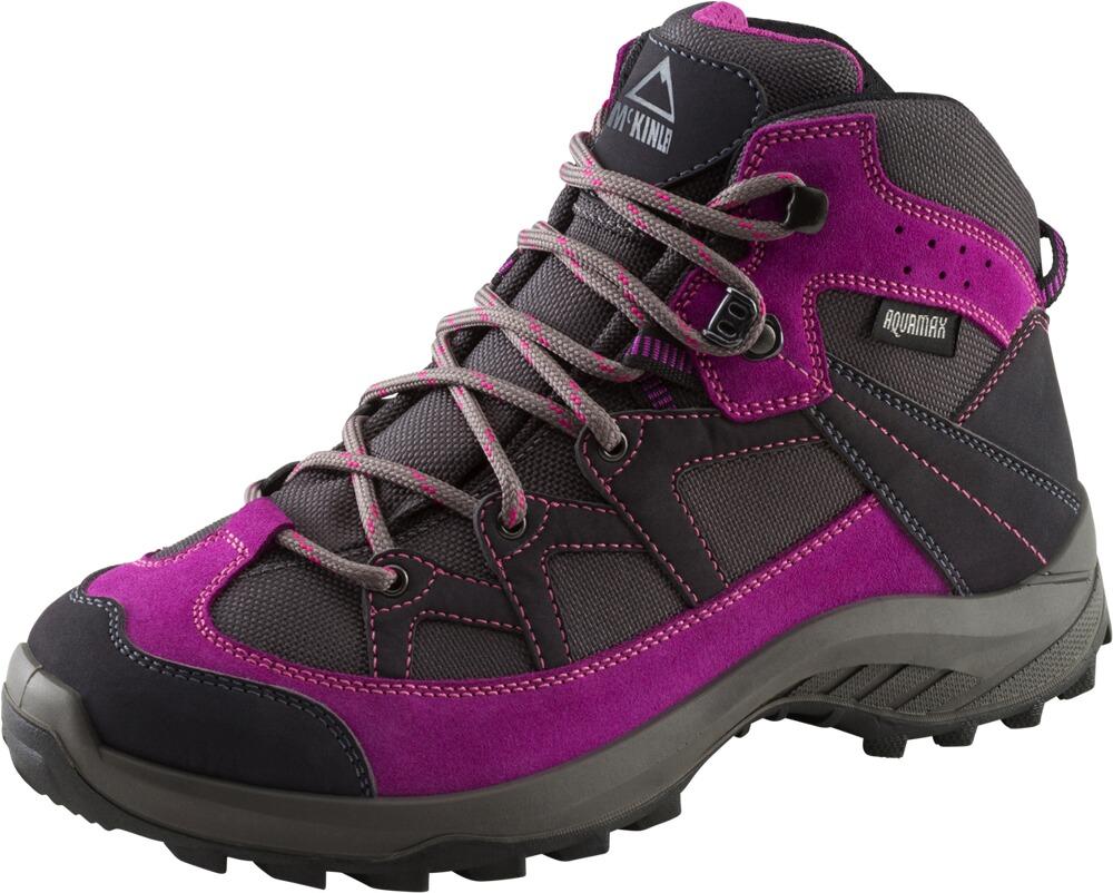 Damen Trekkingschuhe Discover Mid AQX W grau/pink