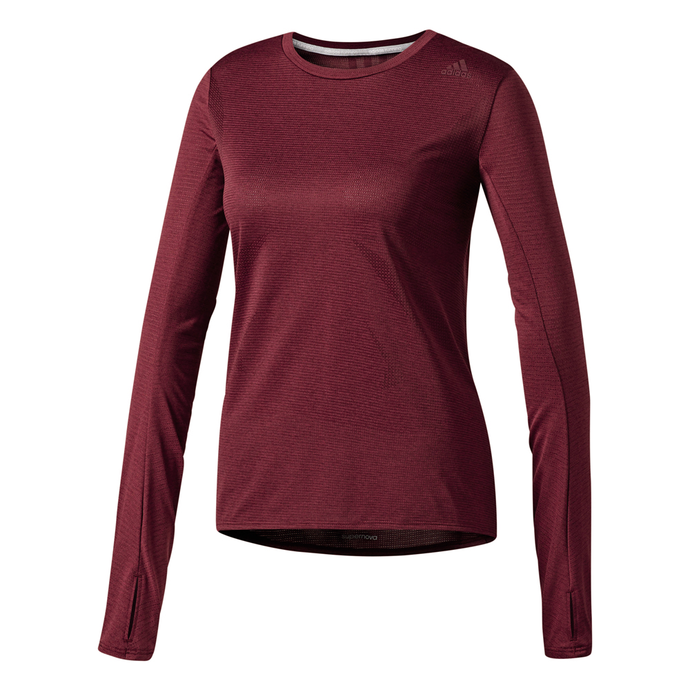 Damen Sportshirt SUPERNOVA LONG SLEEVE TEE WOMEN