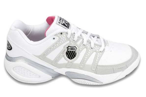 Damen Tennisschuh Defier DS 7.0 W, WHT/GREY/RASP, 6