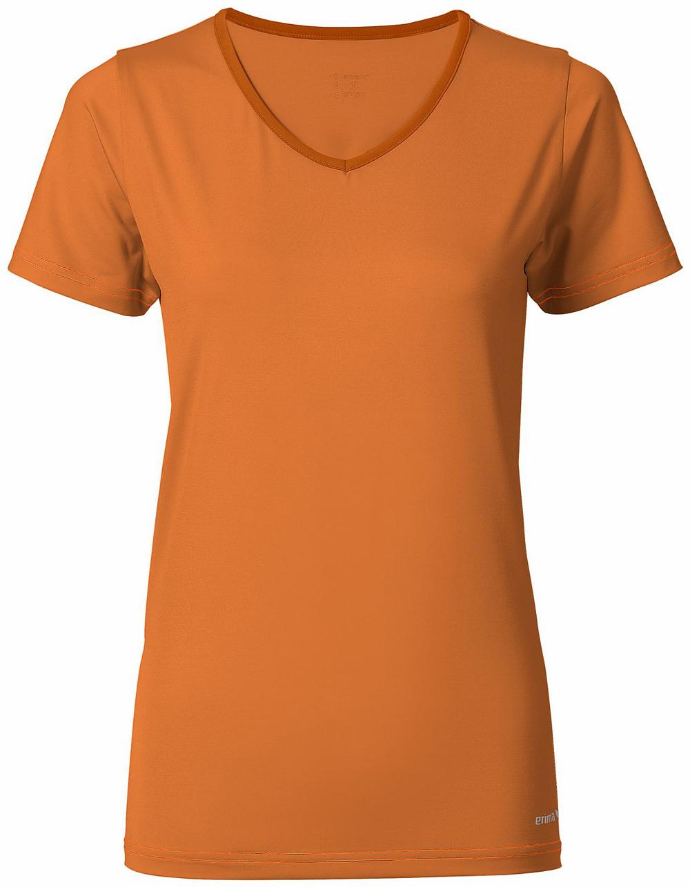Multifunktionales Damen T-shirt, orange pop/solaire, 40