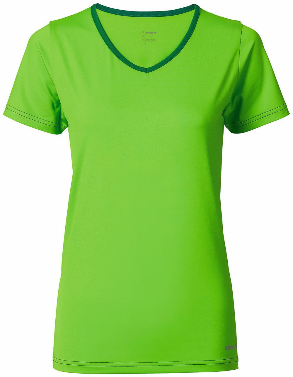 Multifunktionales Damen T-shirt, green gecko/evergreen, 40