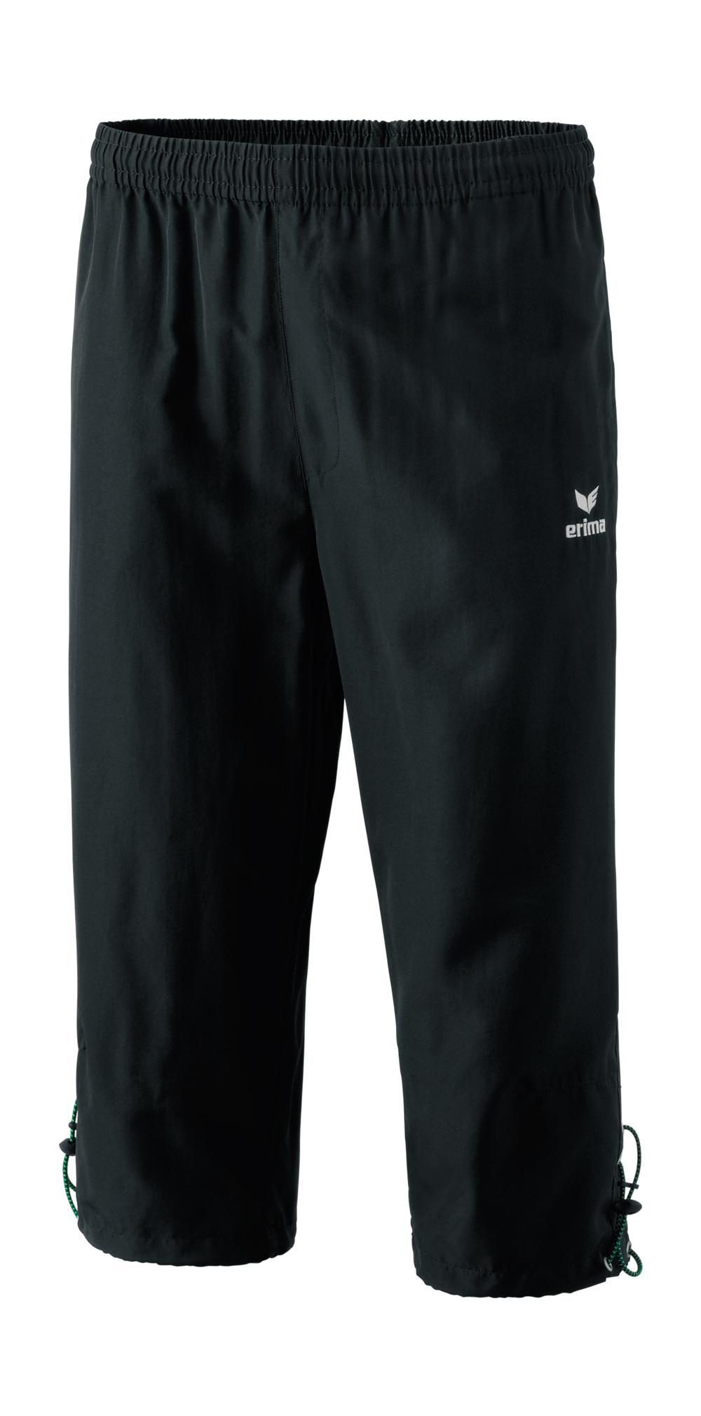 Herren Hose Basic 3/4 Pant, black, 5