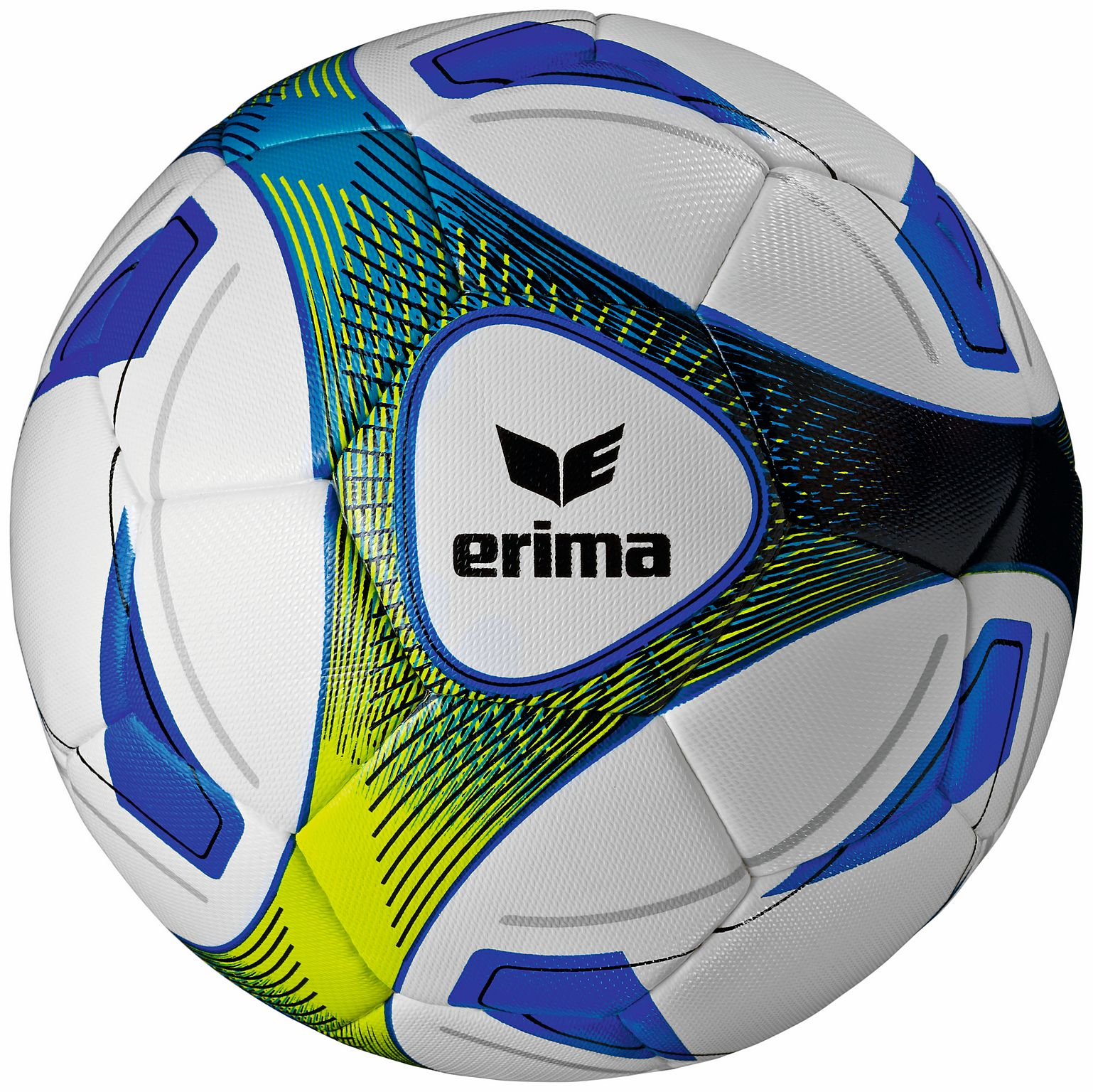 Fußball ERIMA Hybrid Training, royal/lime, 5