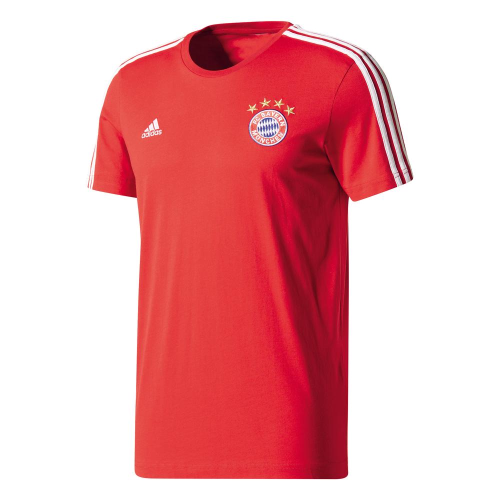 Herren T-Shirt 17/18 BAYERN MUENCHEN 3S TEE