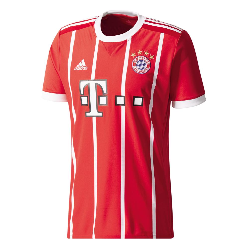 Herren Trikot 17/18 Bayern Muenchen Home Jersey,