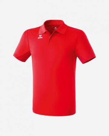 Funktions-Poloshirt - rot