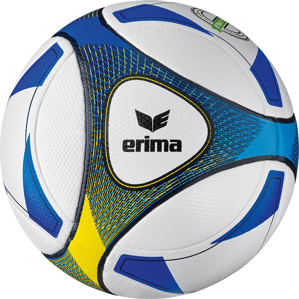 Hybrid Futsal SNR Fußball Ball Blau, blue/yellow, 4
