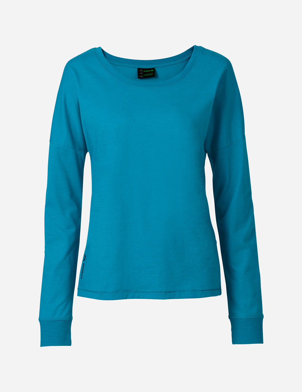Damen Shirt GREEN TRAINING longsleeve