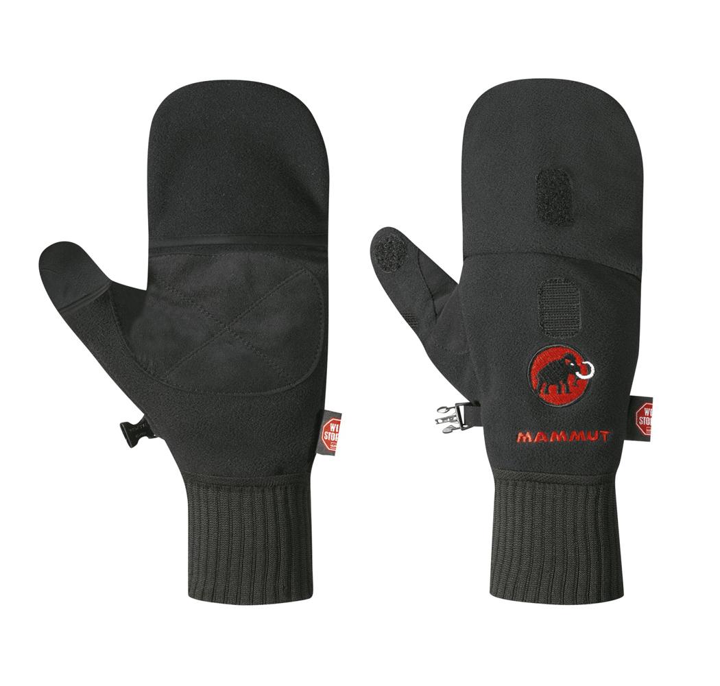 Herren Handschuhe Shelter Mars Glove, black, 10