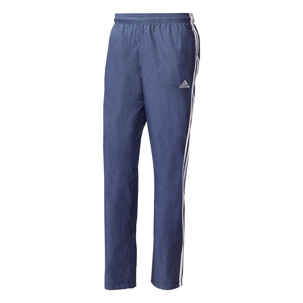 Herren Hose Essentials 3 Stripe Woven Pant, CONAVY/NOCOLO/WHITE, XL/S