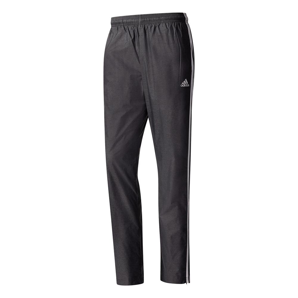 Herren Hose Essentials 3 Stripe Woven Pant, BLACK/NOCOLO/WHITE, XXL/S