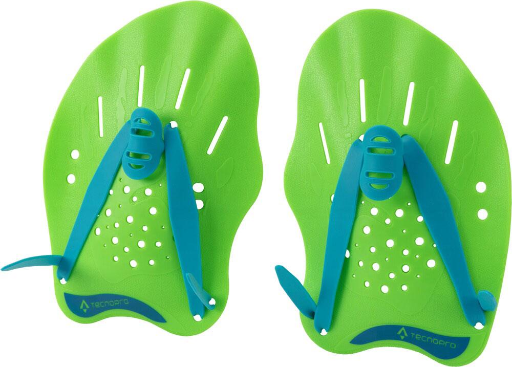 Handpaddel Schwimmhilfe Green Lime, GREEN LIME/BLUE, M