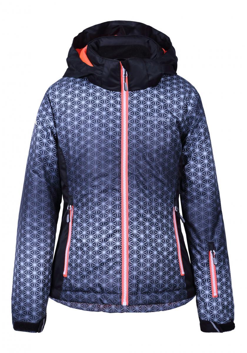 Hermia Jr Mädchen Jacke Skijacke Winterjacke Grau