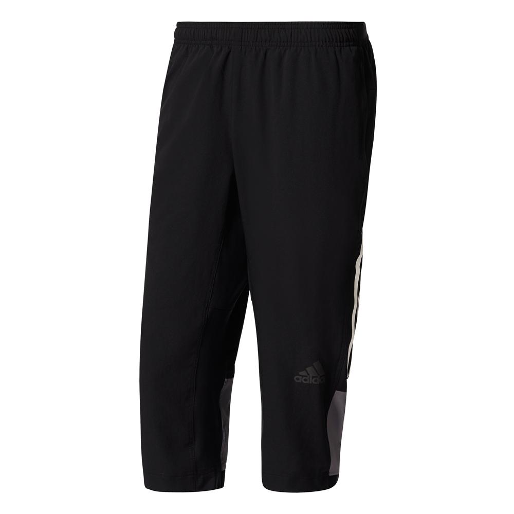 Herren Hose 3/4 Workout Pant ClimaCool wv, BLACK, S