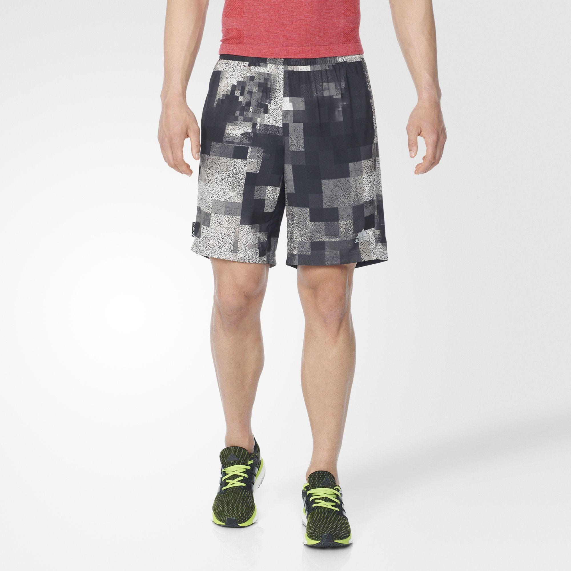 Herren Aktiv Dual Shorts
