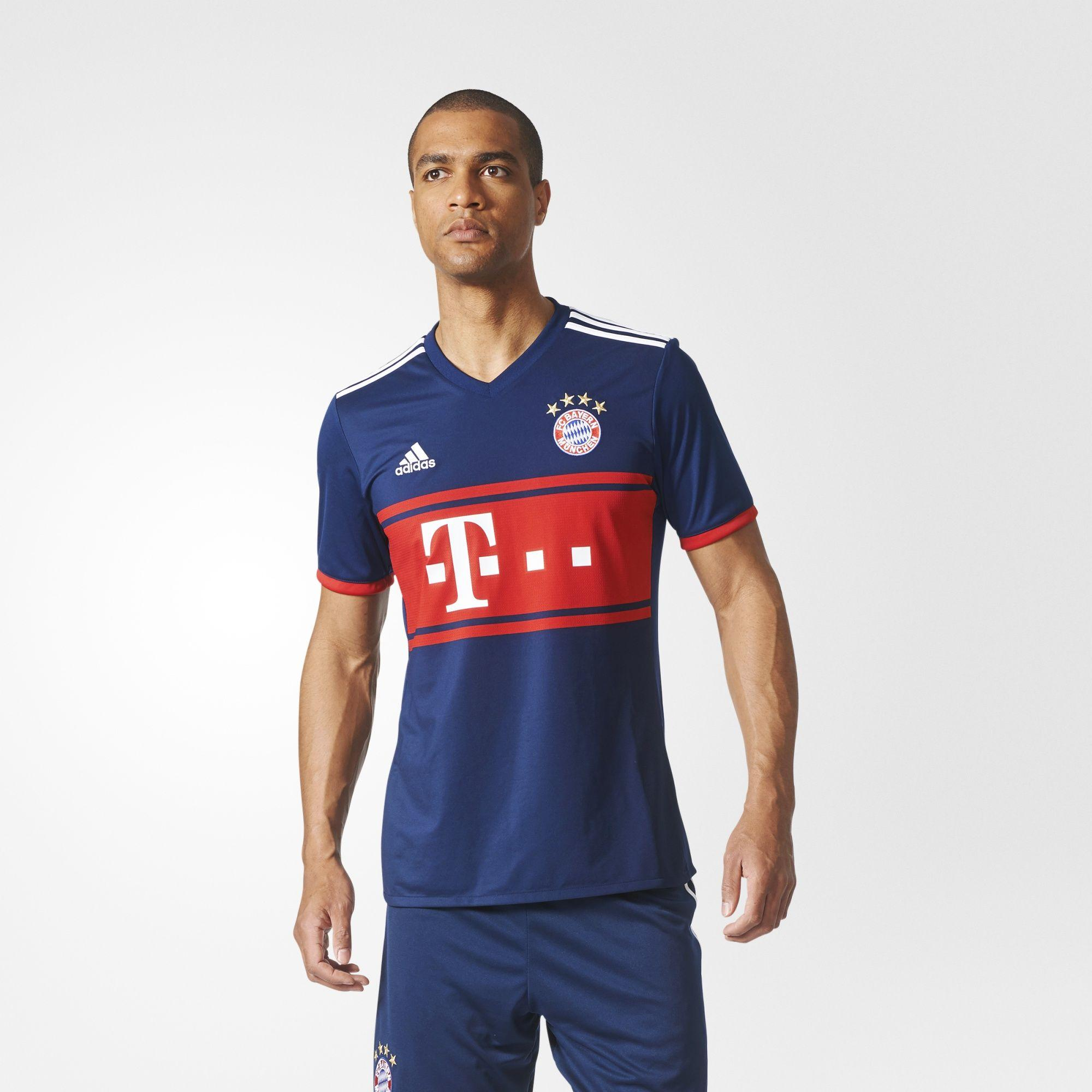 Herren FC Bayern München Auswärtstrikot Replica