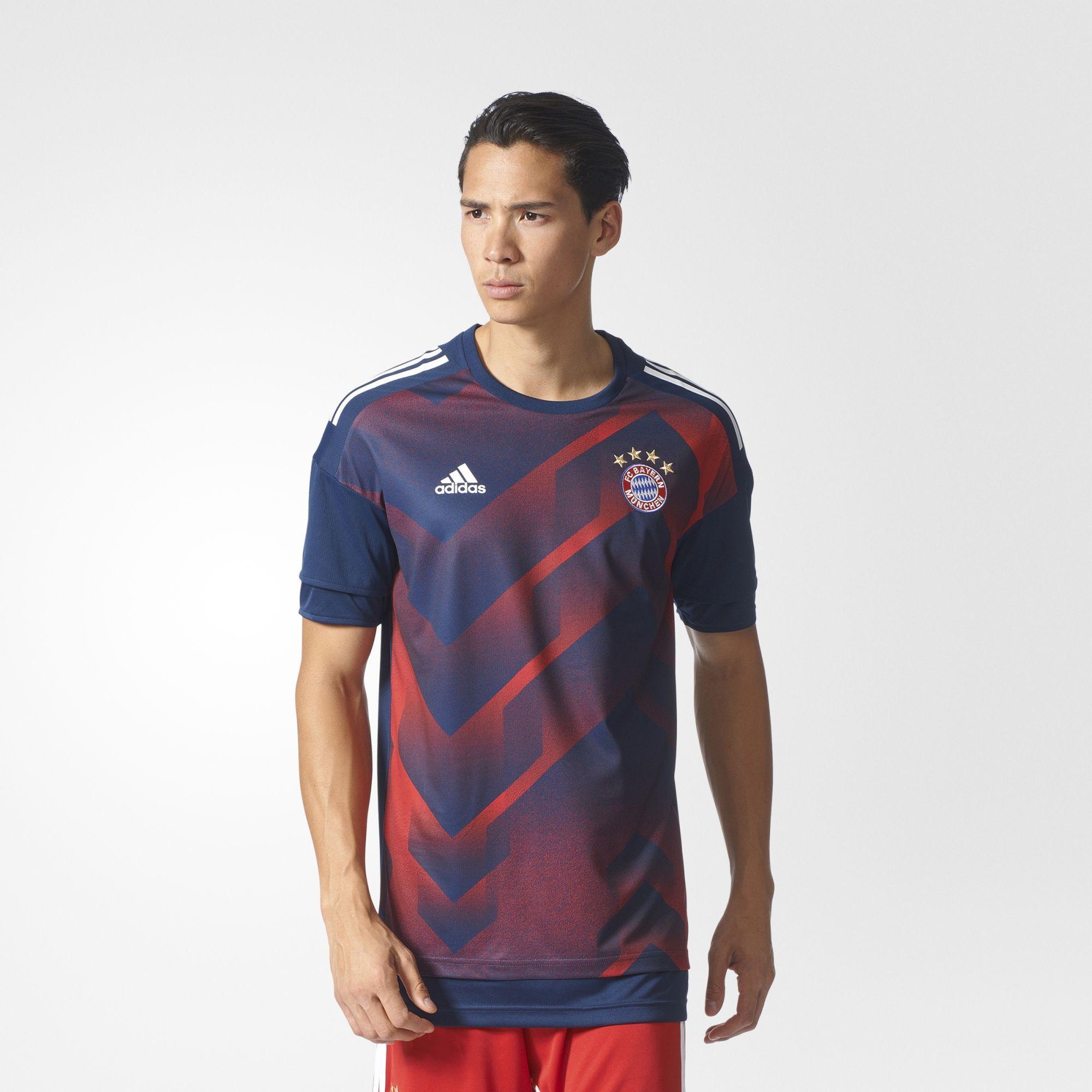 Herren FC Bayern München Home Pre-Match Shirt Authentic