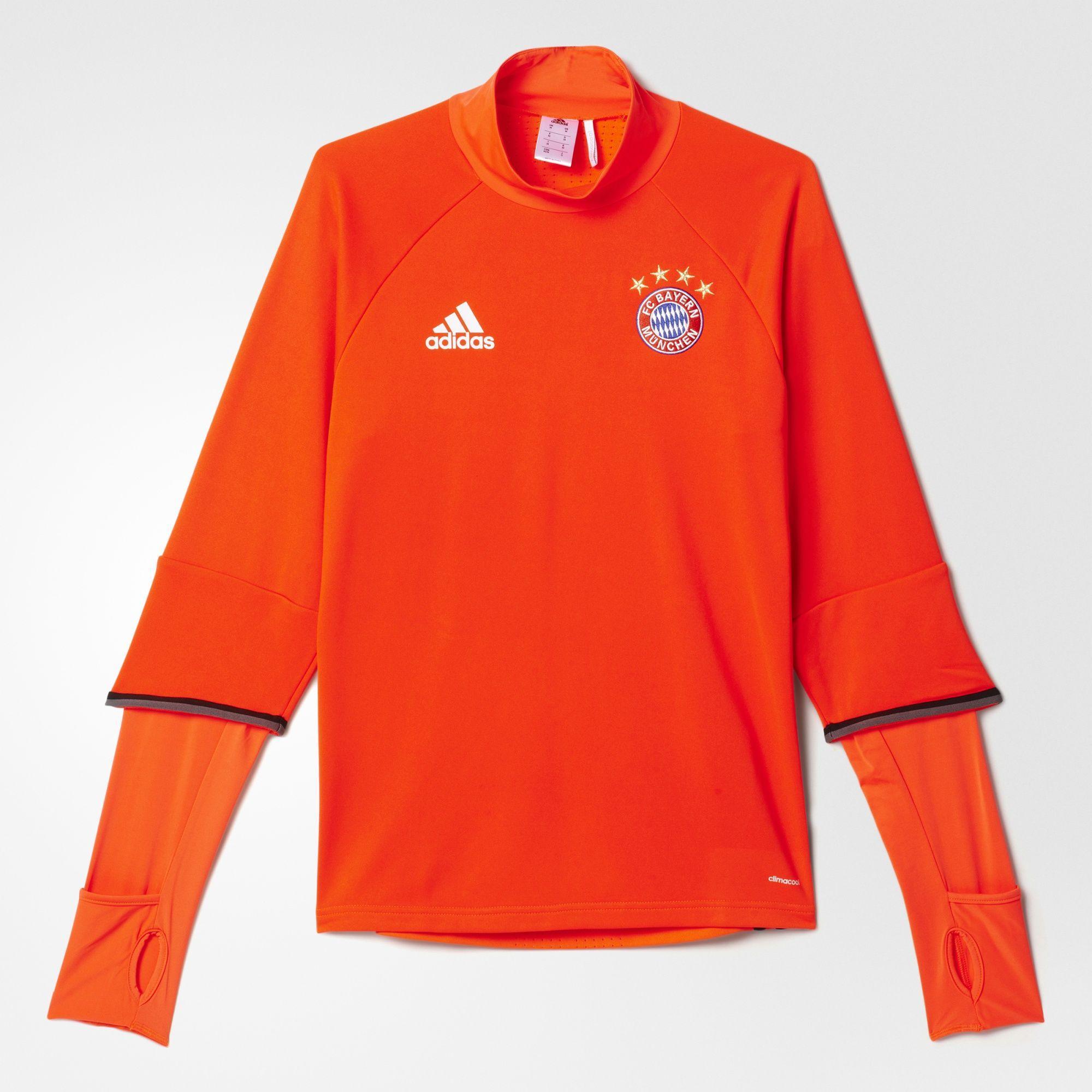 Herren FC Bayern München Trainingsoberteil, SOLRED, XL