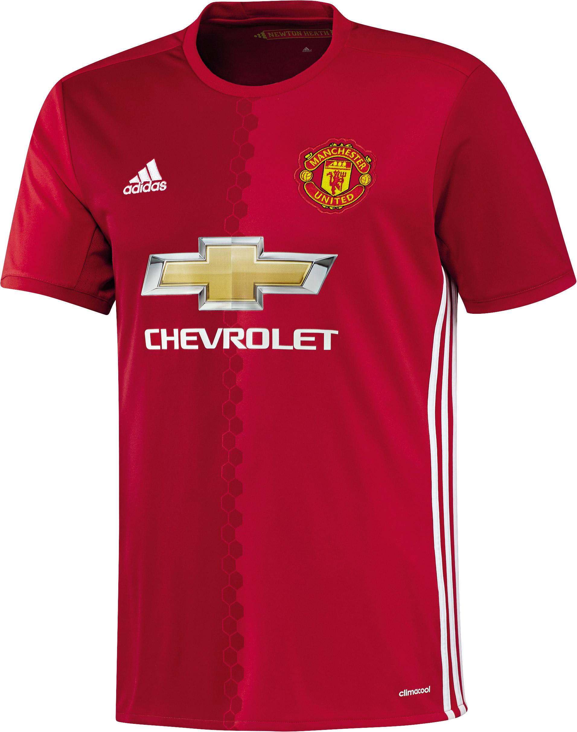 Herren Trikot Manchester United Home Jersey, REARED/POWRED/WHITE, M